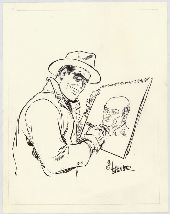 "Will Eisner's ""The Spirit"" artwork on display in Baltimore museum"