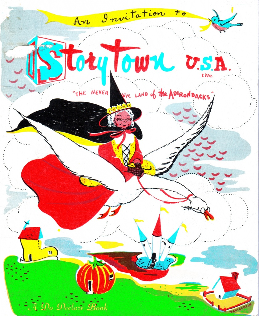 "The Storytown U.S.A. ""Do Declare"" Coloring Book"