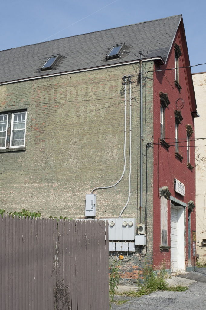 The Deiderich Dairy Ghost Sign in the SouthEnd