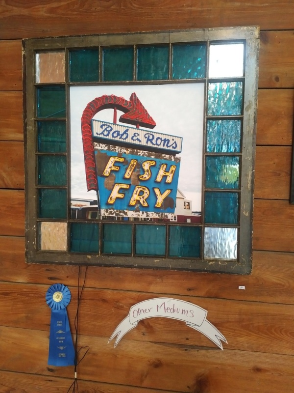 Can we say ... BLUE RIBBON FIRST PLACE AWARD WINNER for Dream Window 18: Friday Night Fish Fry!!!