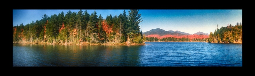 Boreas Ponds 3.  Krasnogorsk ФT-2 camera, Kodak Ektar 100 film.  Photo by Chuck Miller.