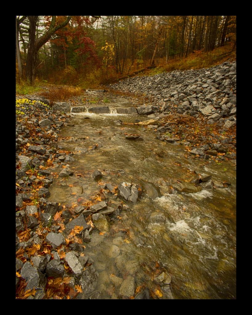 Schoharie Creek. Nikon Df camera, Vivitar 19mm f/3.8 lens. Photo by Chuck Miller.