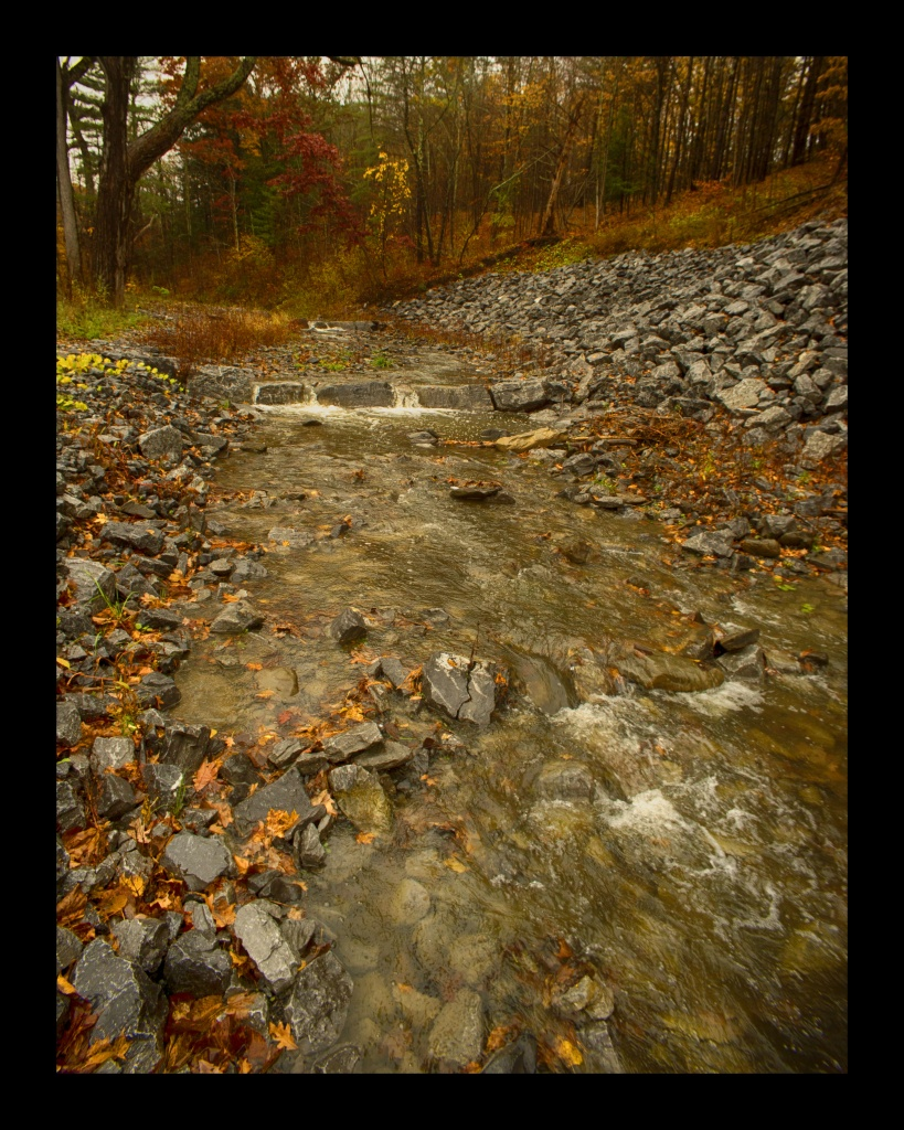 Schoharie Creek. Nikon Df camera, Vivitar 19mm f/3.8 lens. Photo by Chuck Miller.