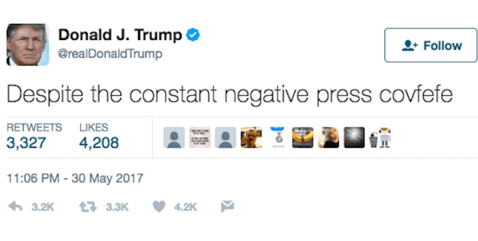 The Definition of Covfefe
