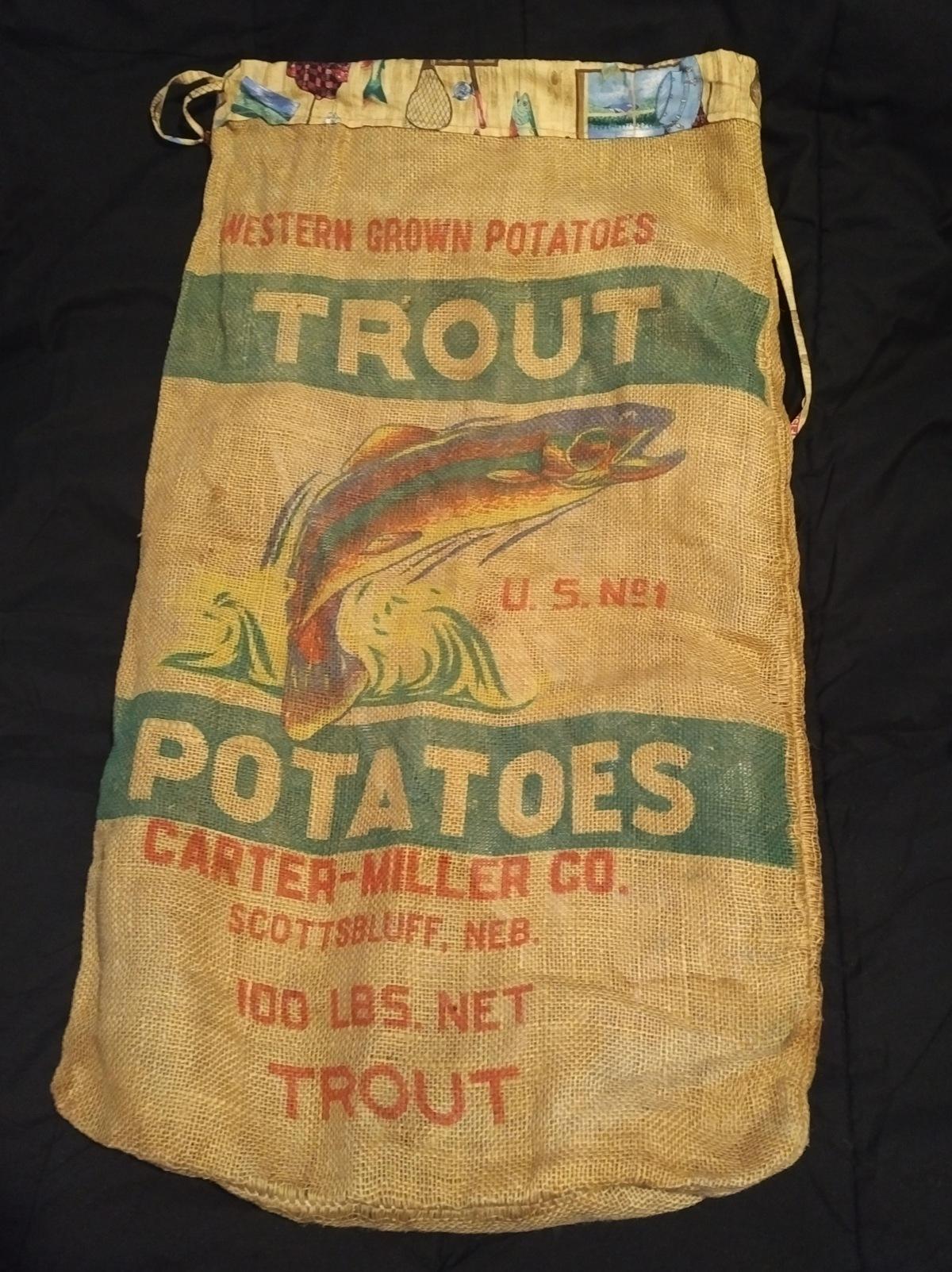The Trout Potatoes Art Project – Part1