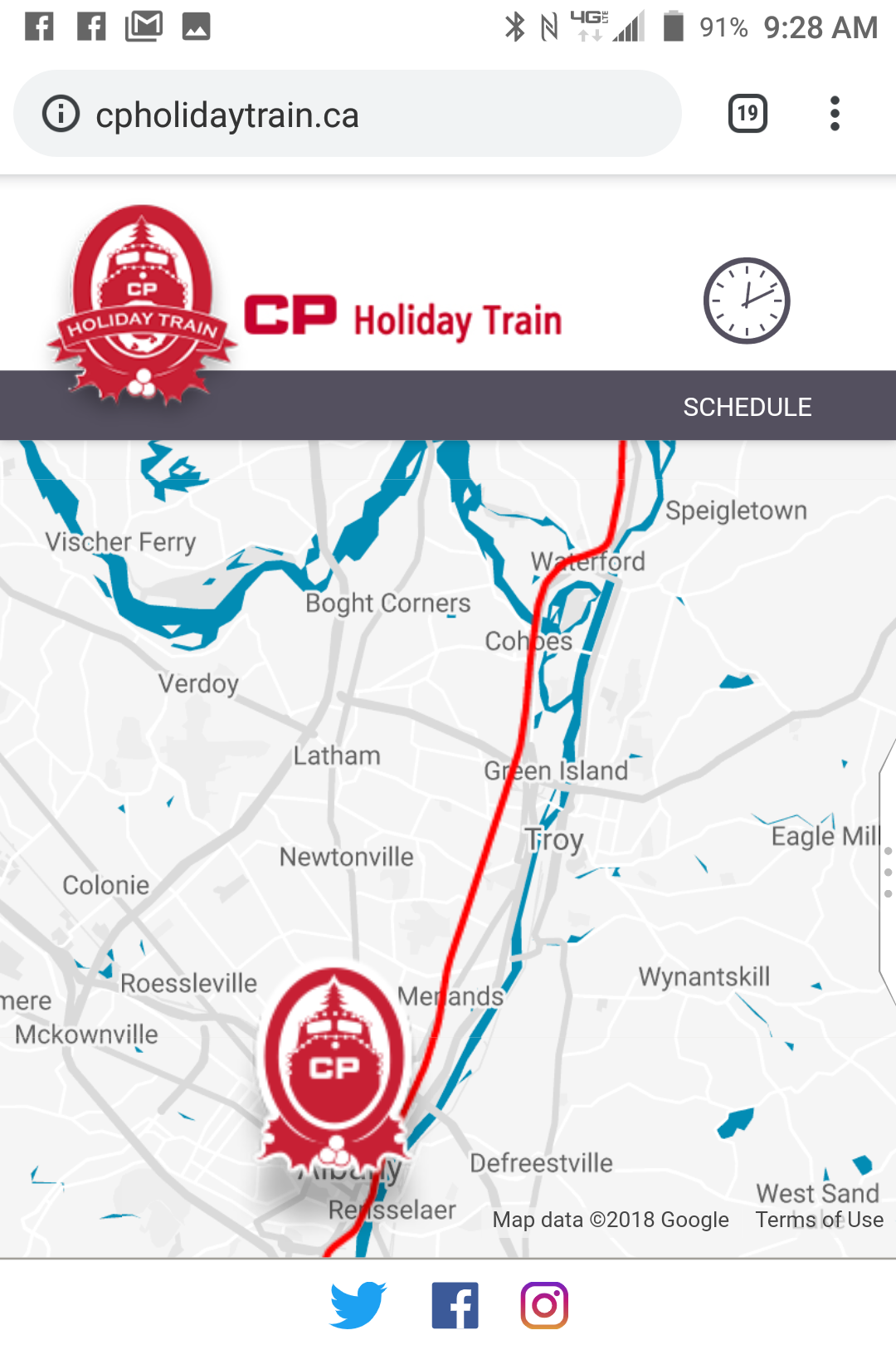 A return to the Canadian Pacific Holiday Train – Chuck The Writer