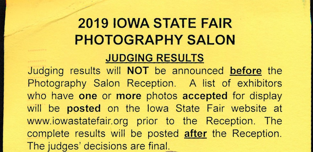 A postcard from the Iowa State Fair, 2019 Edition – Chuck The Writer